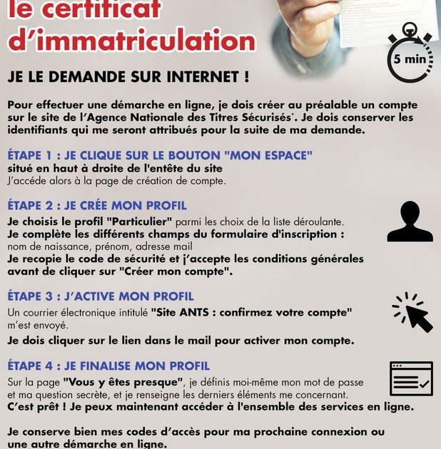 Certif imma en ligne