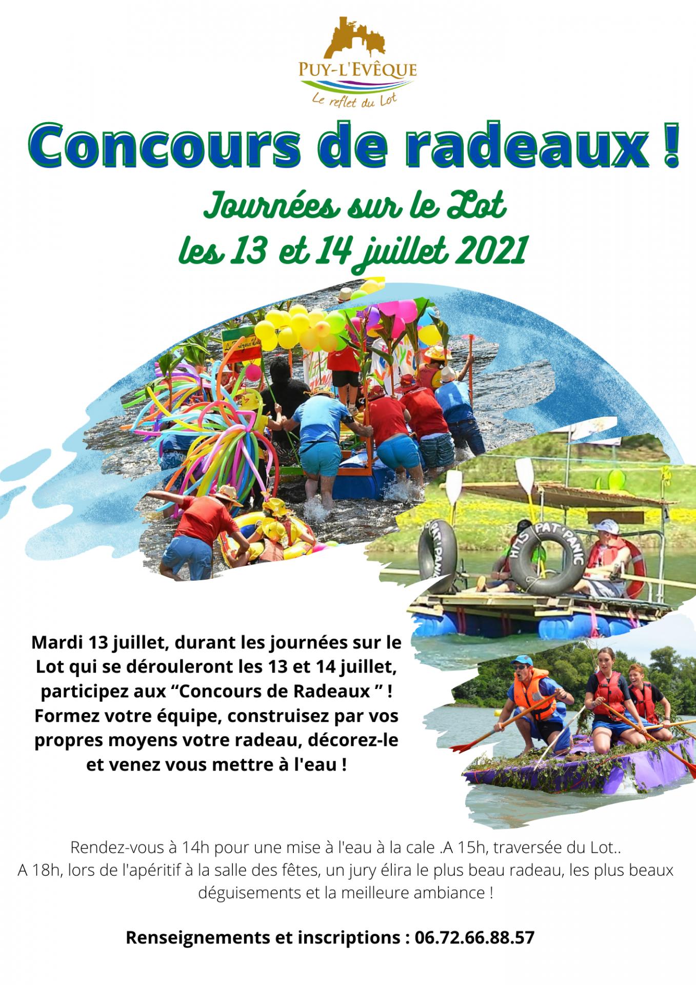 CONCOURS DE RADEAUX