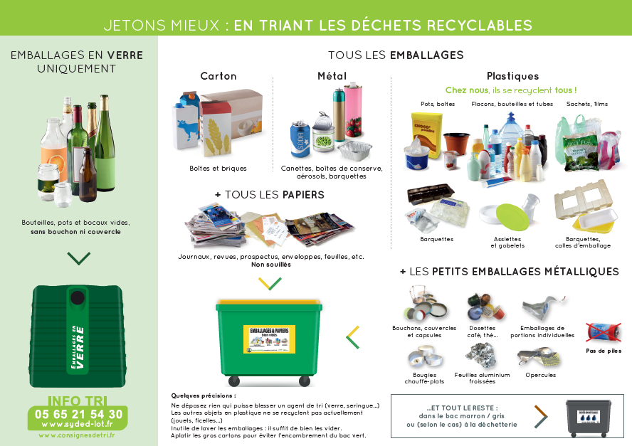 Dechets recyclables