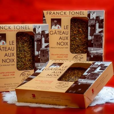 Franck tonel gateaux aux noix
