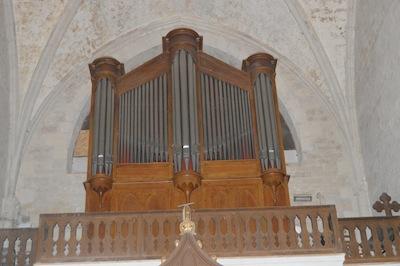 Orgue de l'église St Sauveur