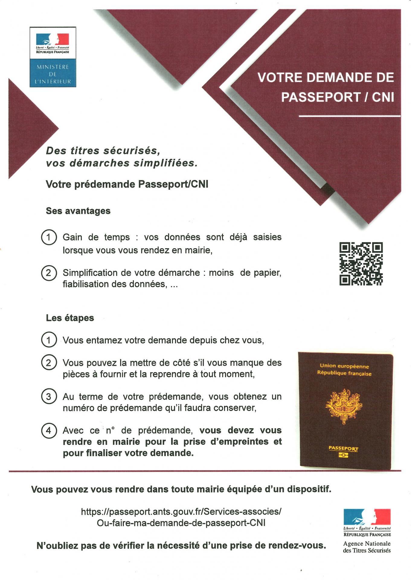 Passeport mode d emploi