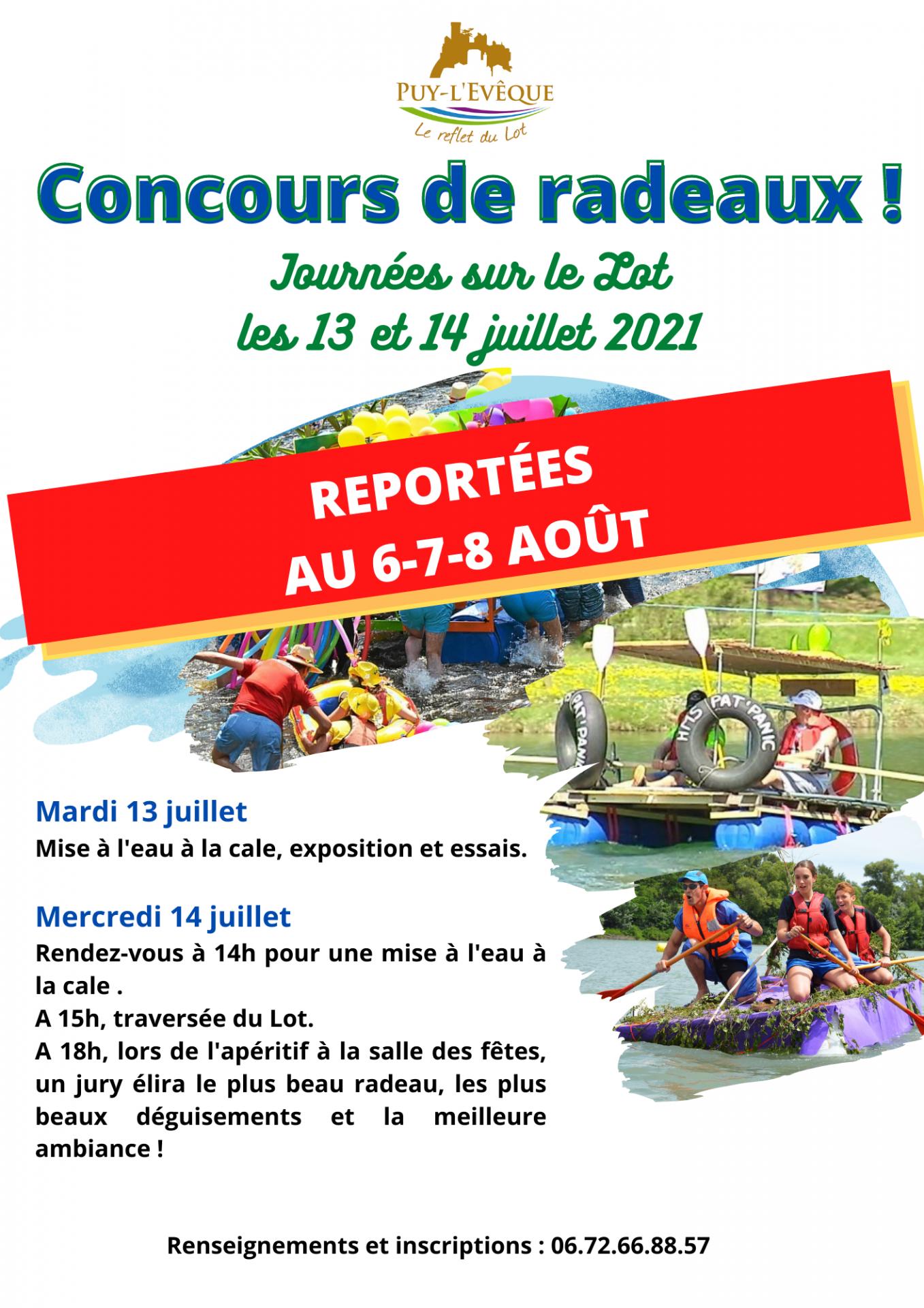 Report concours de radeaux