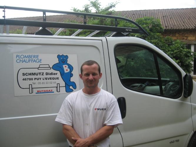 SCHMUTZ Didier, Plombier chauffagiste